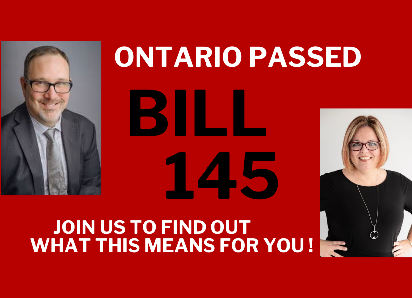 What you need to know about incorporating after the passing of Bill 145