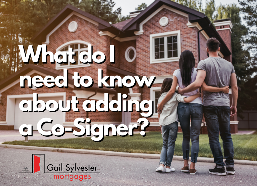 What do I need to know about adding a Co-Signer?!