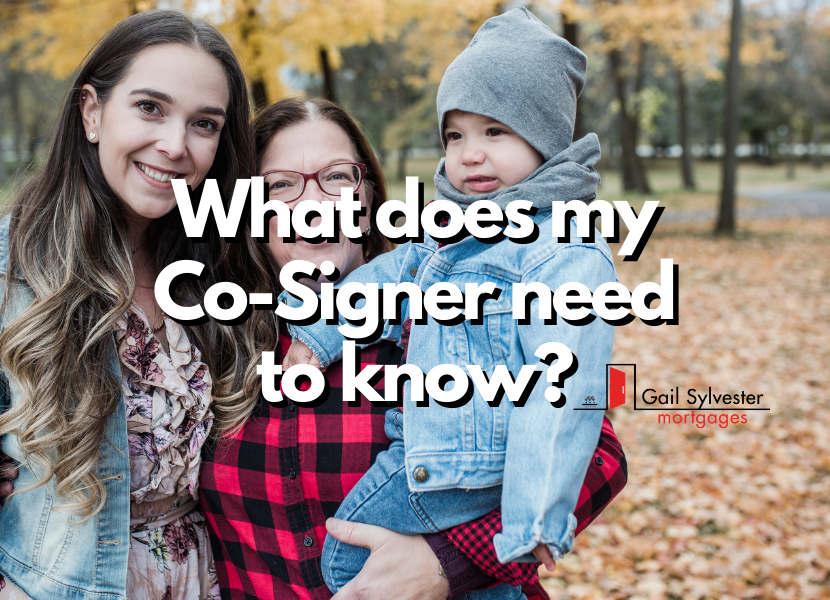 What does my Co-Signer need to know ?