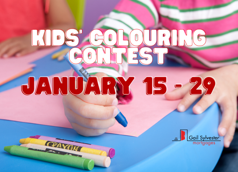 Kids' Colouring Contest !