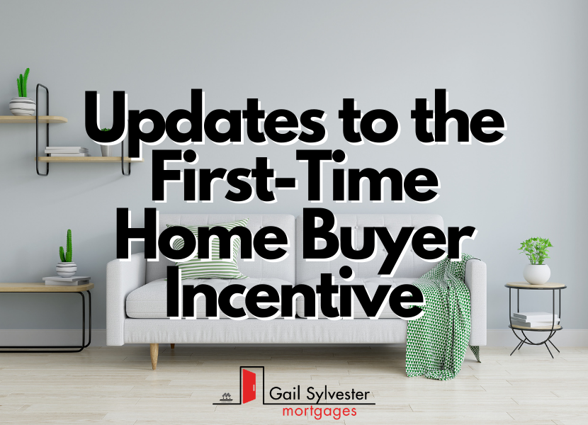 Updates to the First-Time Home Buyer Incentive Program
